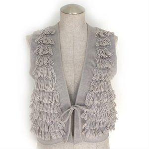 Anthropologie Sleeping on Snow Sweater Vest Size M